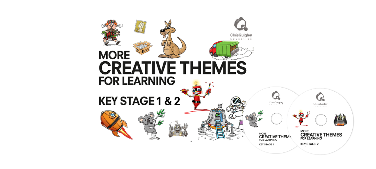 More Creative Themes for Learning - Key Stages 1 & 2 - Chris Quigley ...